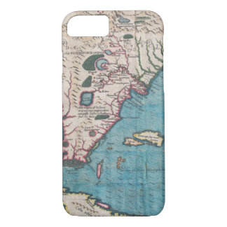Funda Para iPhone 8/7 Mapa antiguo de la Florida y de Cuba