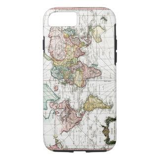 Funda Para iPhone 8/7 Mapa del mundo 1748