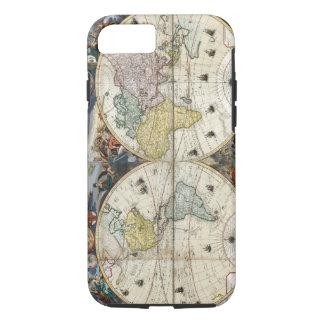 Funda Para iPhone 8/7 Mapa del mundo 1766