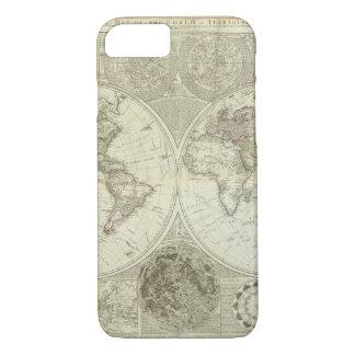 Funda Para iPhone 8/7 Mapa del mundo empeorado 25