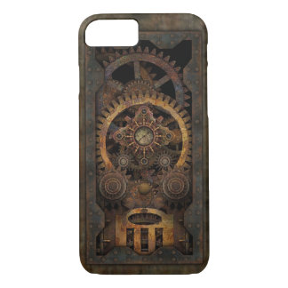 Funda Para iPhone 8/7 Máquina industrial sucia #2 de Steampunk