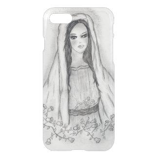 Funda Para iPhone 8/7 Maria con los rosas