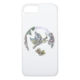 Funda Para iPhone 8/7 Mariposa de los artes de Hekela