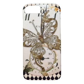 Funda Para iPhone 8/7 Mariposa de Steampunk redonda