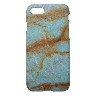 Funda Para iPhone 8/7 Mármol azul azul