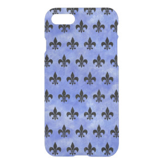FUNDA PARA iPhone 8/7 MÁRMOL NEGRO ROYAL1 Y ACUARELA AZUL