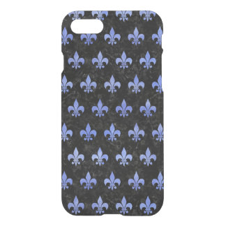 FUNDA PARA iPhone 8/7 MÁRMOL NEGRO ROYAL1 Y ACUARELA AZUL (R)