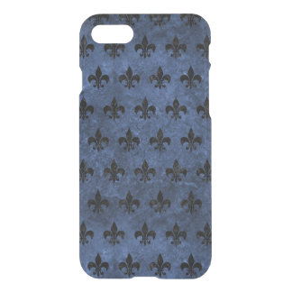FUNDA PARA iPhone 8/7 MÁRMOL NEGRO ROYAL1 Y PIEDRA AZUL