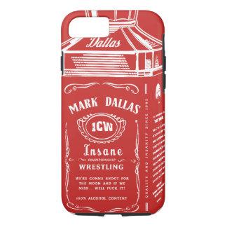 Funda Para iPhone 8/7 Marque la cubierta del iPhone de Dallas (roja)