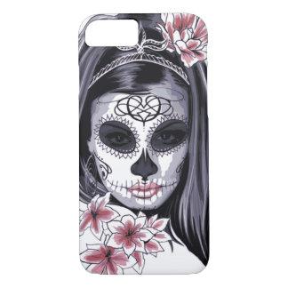 Funda Para iPhone 8/7 Máscara del esqueleto de la mujer