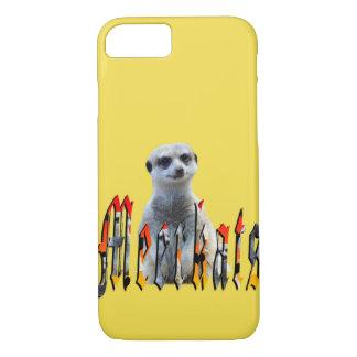 Funda Para iPhone 8/7 Meerkat y logotipo de la imagen de Meerkats,