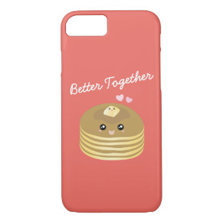 Funda Para iPhone 8/7 Mejore juntas las crepes lindas Foodie divertido
