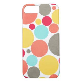 Funda Para iPhone 8/7 Melón, azul, amarillo, rosa, caja gris del