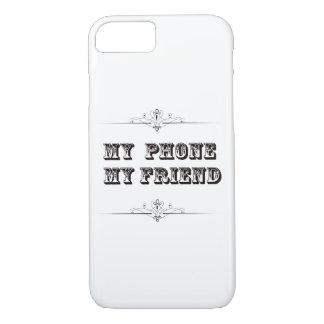 Funda Para iPhone 8/7 Mi teléfono mi caja del teléfono del amigo