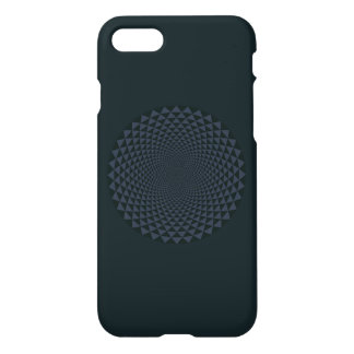 Funda Para iPhone 8/7 Mil pétalos Lotus, oscuro
