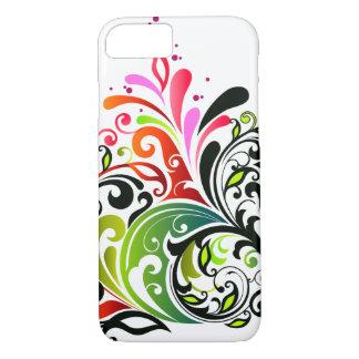 Funda Para iPhone 8/7 Moda floral retra femenina fresca linda fina
