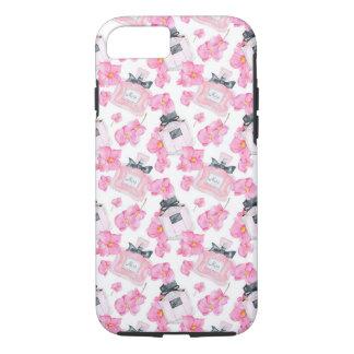 Funda Para iPhone 8/7 Moda rosada Parfume de las flores