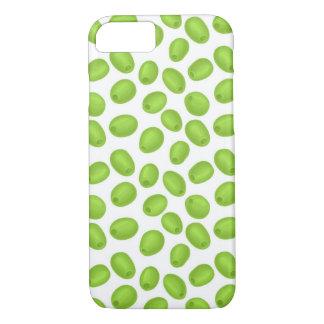 Funda Para iPhone 8/7 Modelo con las aceitunas verdes