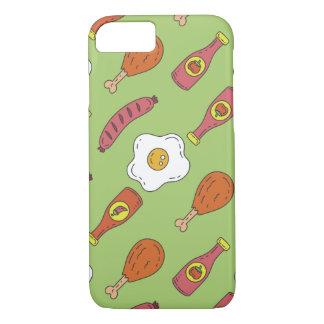 Funda Para iPhone 8/7 Modelo de la comida de la diversión