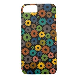 Funda Para iPhone 8/7 Modelo de la máquina de tiempo en colores con el