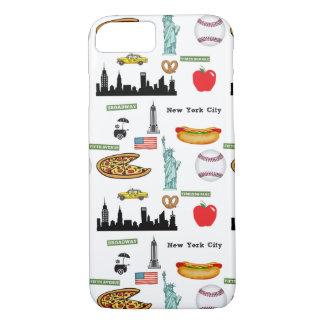 Funda Para iPhone 8/7 Modelo de los iconos de Nueva York por la huerta