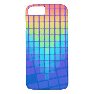 Funda Para iPhone 8/7 Modelo de los rectángulos del arco iris