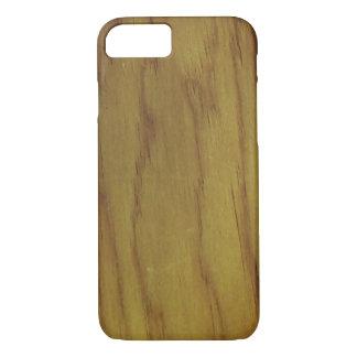 Funda Para iPhone 8/7 Modelo de madera del grano de Ricoleta