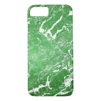 Funda Para iPhone 8/7 modelo de mármol verde claro