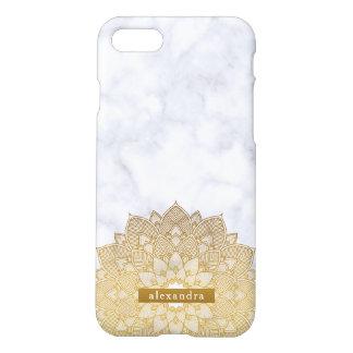 Funda Para iPhone 8/7 Modelo de moda del cordón de la mandala del mármol