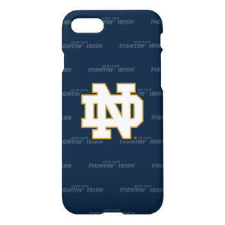 Funda Para iPhone 8/7 Modelo de repetición de Notre Dame el |
