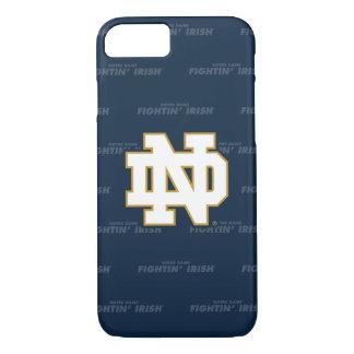 Funda Para iPhone 8/7 Modelo de repetición de Notre Dame el |