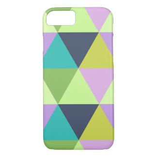 Funda Para iPhone 8/7 Modelo en colores pastel del edredón del harlequin