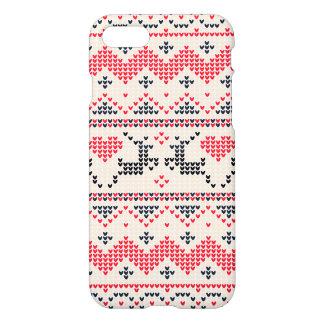 Funda Para iPhone 8/7 Modelo hecho punto del navidad del invierno