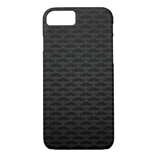 Funda Para iPhone 8/7 Modelo negro y gris del bigote