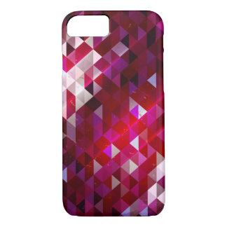 Funda Para iPhone 8/7 Modelo oscuro y ligero del polígono