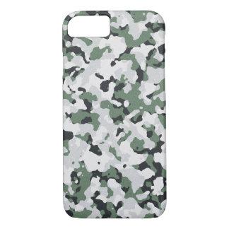 Funda Para iPhone 8/7 Modelo verde del camuflaje