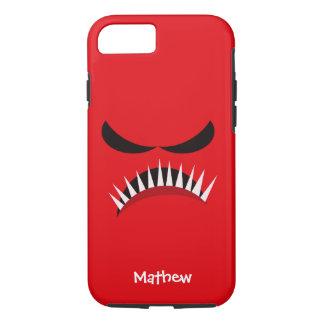 Funda Para iPhone 8/7 Monstruo enojado con los males de ojo y los