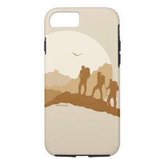Funda Para iPhone 8/7 Montaña cariñosa de la vida que camina Iphone 7/8