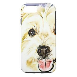 Funda Para iPhone 8/7 Montaña Terrier blanco del oeste, Westie, perro,