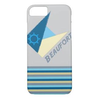 Funda Para iPhone 8/7 Movimiento azul por la camisa a diseñar