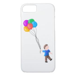 Funda Para iPhone 8/7 Muchacho con iPhone de los globos 7/8 caso