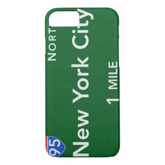 Funda Para iPhone 8/7 Muestra de la carretera de New York City