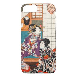 Funda Para iPhone 8/7 Mujer japonesa Maiko de la señora del geisha de la