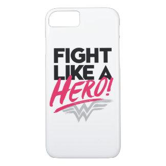 Funda Para iPhone 8/7 Mujer Maravilla - lucha como un héroe
