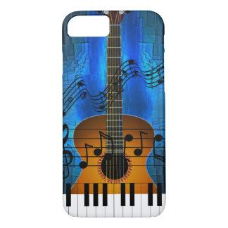 Funda Para iPhone 8/7 Música de la guitarra y del teclado