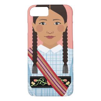 Funda Para iPhone 8/7 Nación de Métis del caso de Canadá Matryoshka
