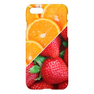 Funda Para iPhone 8/7 Naranjas y collage de las fresas
