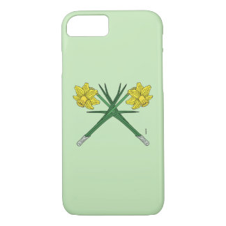 Funda Para iPhone 8/7 Narcisos cruzados