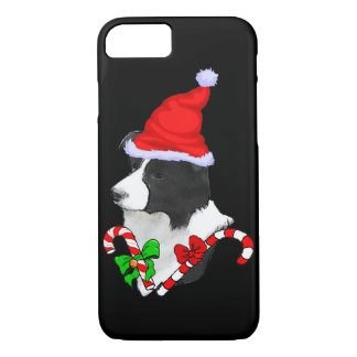 Funda Para iPhone 8/7 Navidad del border collie