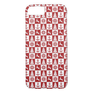 Funda Para iPhone 8/7 Navidad náutico